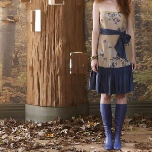 FINAL SALE 🏃🏻♀️ Tabitha Wild Flame Silk Dress
